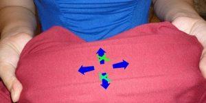 Độ co giãn của vải thun cotton 4 chiều